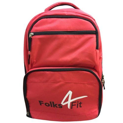 Mochila Térmica Vermelha - Folks 4Fit   - Personall Suplementos