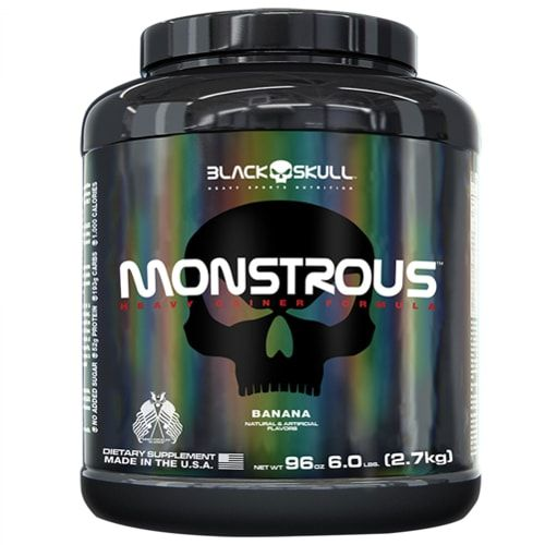 Monstrous 2,7kg - Black Skull   - Personall Suplementos