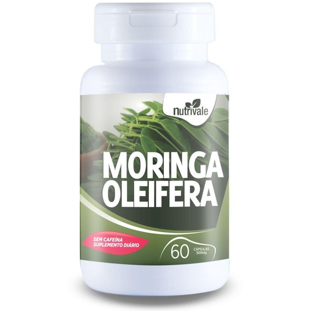 Moringa Oleifera - 60 cápsulas - Nutrivale  - Natulha