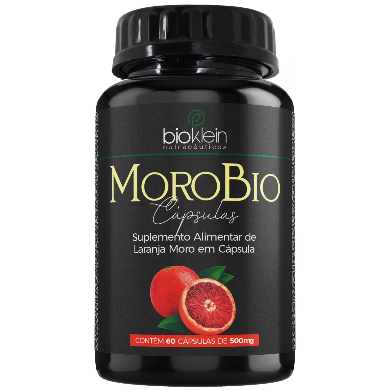 MoroBio Laranja Moro 500mg 60 cápsulas - Bioklein