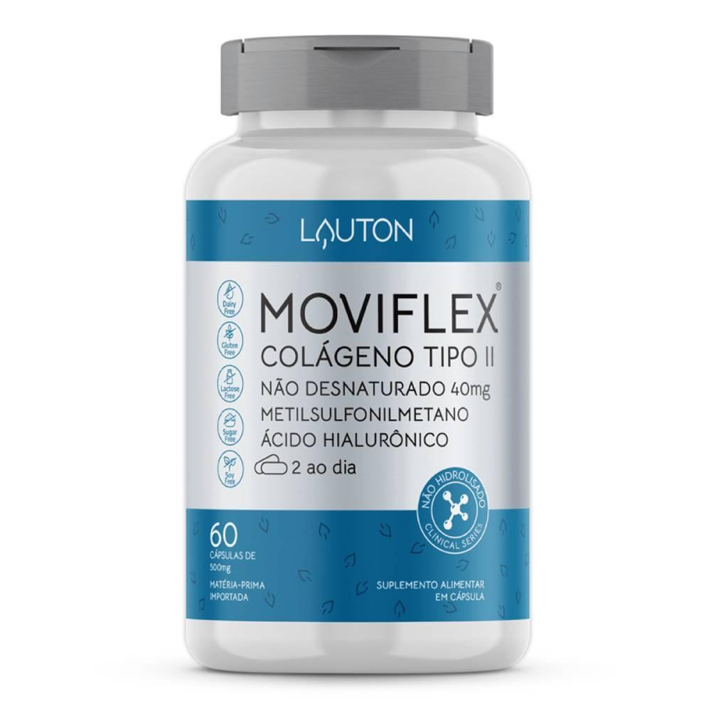 Moviflex ( Colágeno Tipo 2 + MSM + Ácido Hialurônico) 60 cápsulas - Lauton Nurition