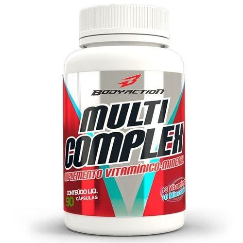 Multi Complex 90caps - Body Action  - Personall Suplementos