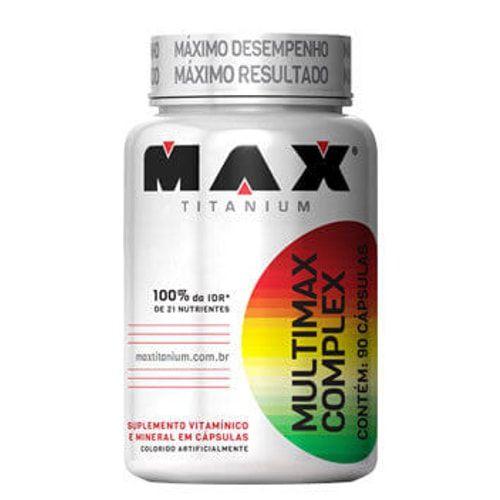 Multimax Complex 90 caps - Max Titanium  - Personall Suplementos