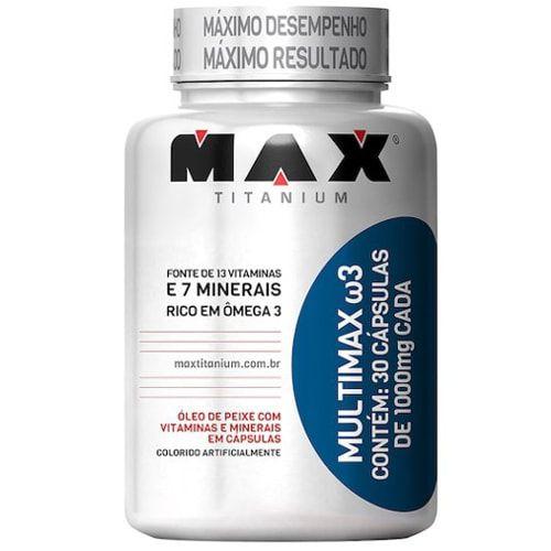 Multimax ω3 30caps  - Max Titanium  - Personall Suplementos
