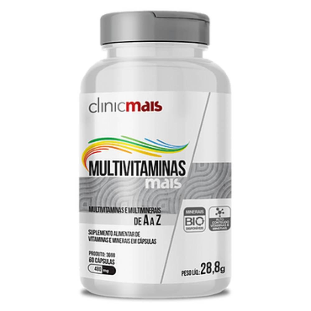 Multivitmais 60 Cápsulas  - Clinicmais