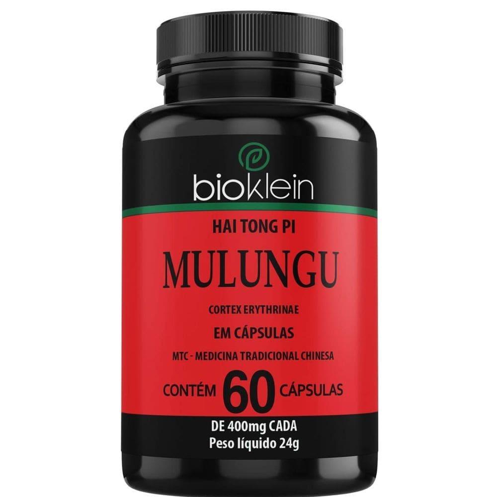 Mulungu 400mg 60 cápsulas - Bioklein