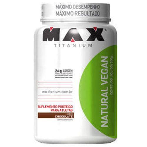 Natural Vegan 500g - Max Titanium   - Personall Suplementos