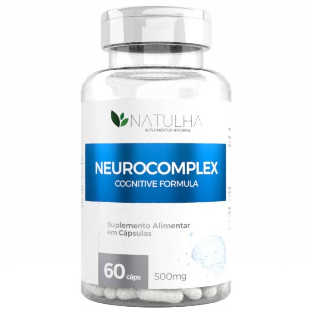 NeuroComplex (Magnésio L-Treonato + Fosfatidilserina) 60 cápsulas - Natulha