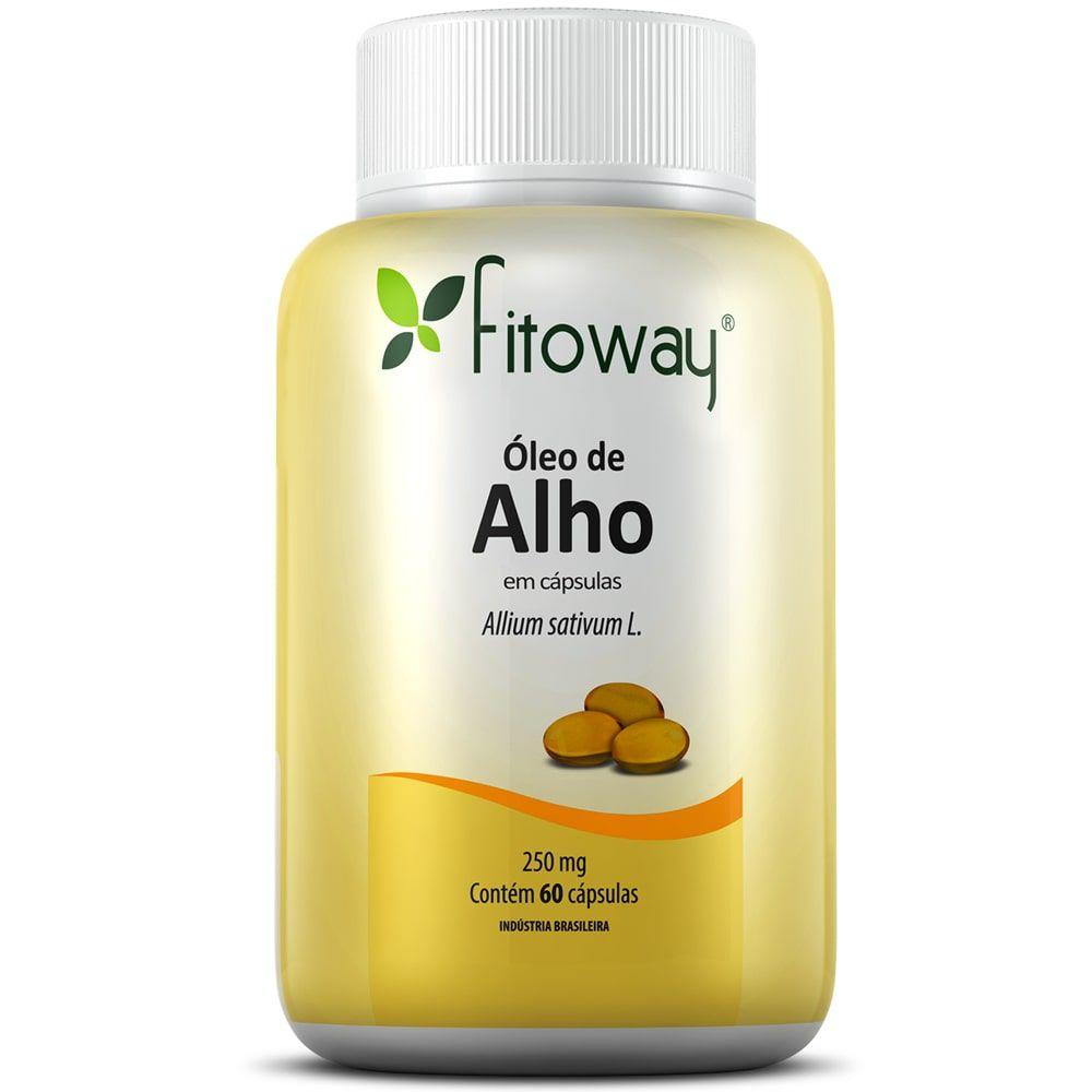 Óleo de Alho 60 cápsulas - Fitoway