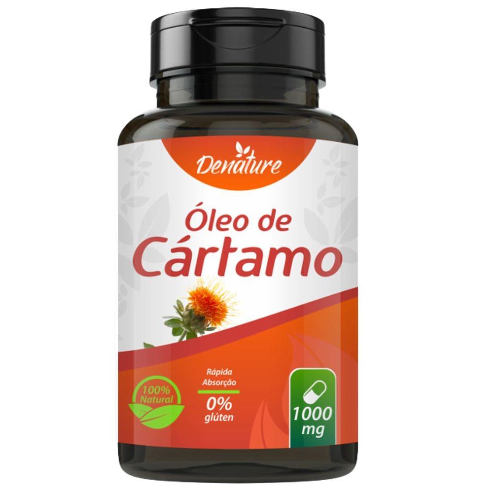 Óleo de Cartamo 1000mg 100 cápsulas - Denature