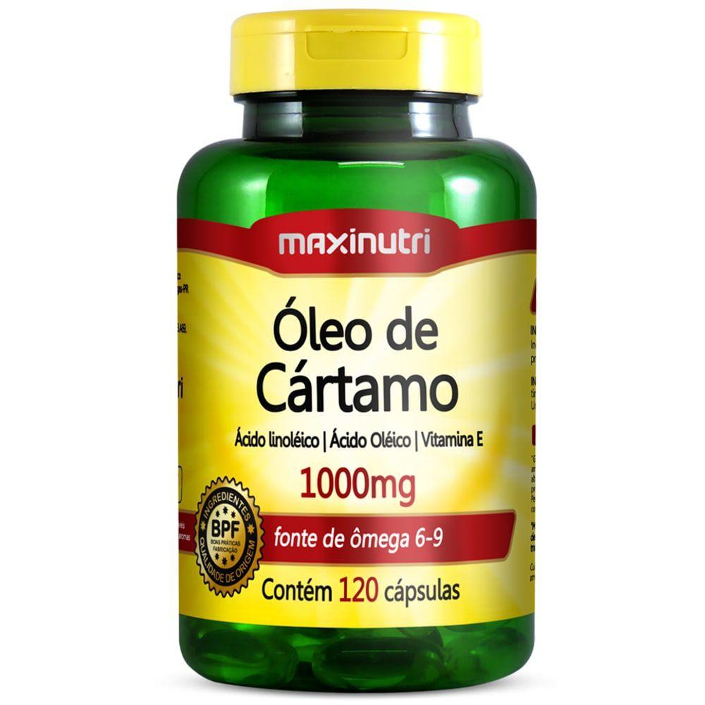 Óleo de Cartamo 120 cápsulas - Maxinutri  - Natulha