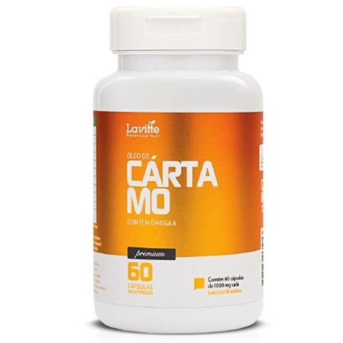 Óleo de Cartamo 60caps - Lavitte  - Personall Suplementos