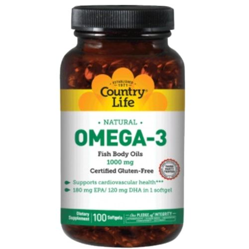 Ômega 3 100caps - Country Life  - Personall Suplementos