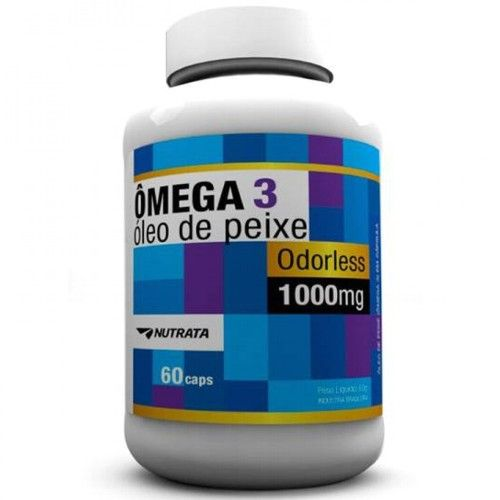 Omega 3 60caps - Nutrata  - Personall Suplementos