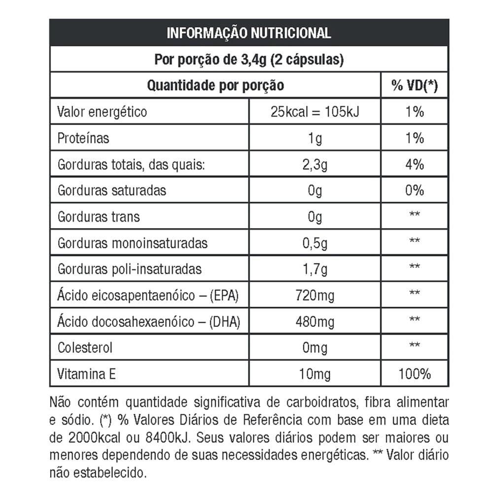 Ômega Ultra TG 120caps - Nutrata  - Personall Suplementos
