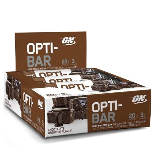 Opti-Bar 12und - Optimum Nutrition  - Personall Suplementos