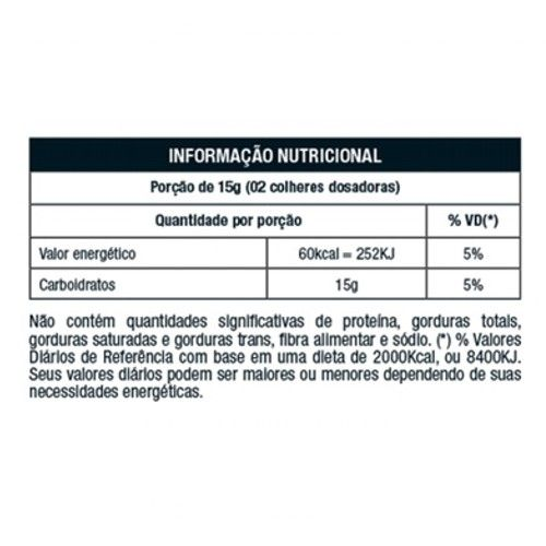 Palatinose 400g - Nutrata  - Personall Suplementos