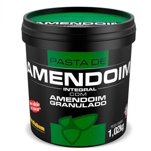 Pasta de Amendoim Com Granulado 1kg - Mandubim  - Personall Suplementos