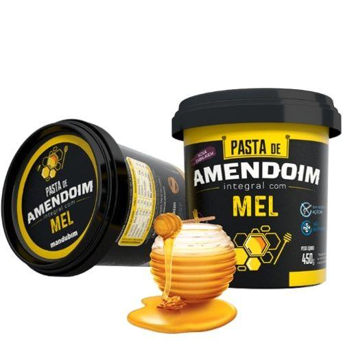 Pasta de Amendoim com Mel 450g - Mandubim  - Personall Suplementos