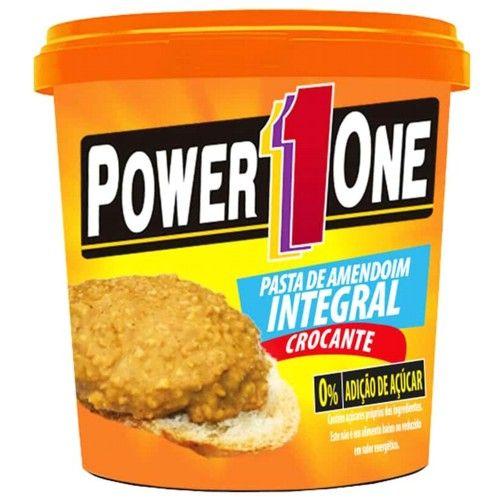 Pasta de Amendoim Crocante 1,005kg - Power One  - Personall Suplementos
