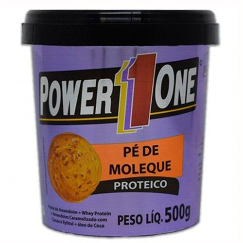 Pé de Moleque 500g - Power One  - Personall Suplementos