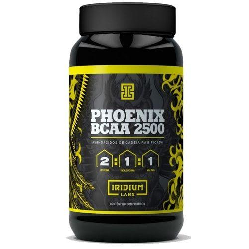 Phoenix BCAA 2500 120tabs - Iridium Labs  - Personall Suplementos