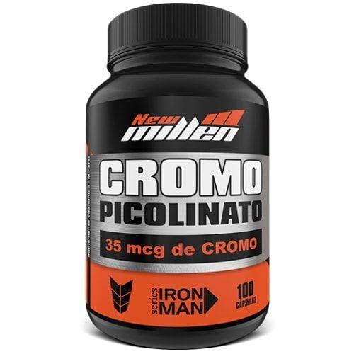Picolinato de Cromo 100caps - New Millen  - Personall Suplementos
