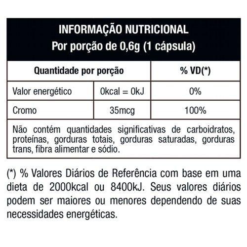 Picolinato de Cromo 120caps - Nutrata  - Personall Suplementos