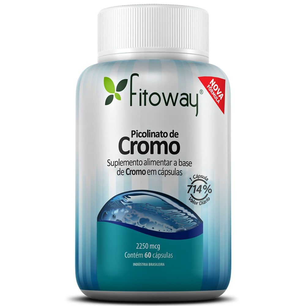 Picolinato de Cromo 60 cápsulas - Fitoway