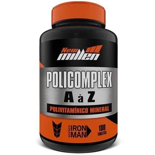 Policomplex 100tabs - New Millen  - Personall Suplementos