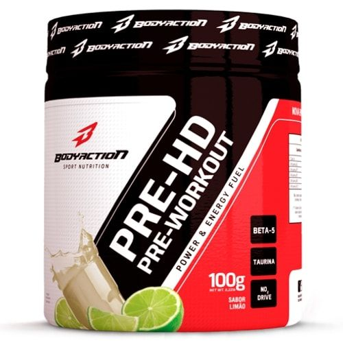 Pré HD 100g - Body Action  - Personall Suplementos