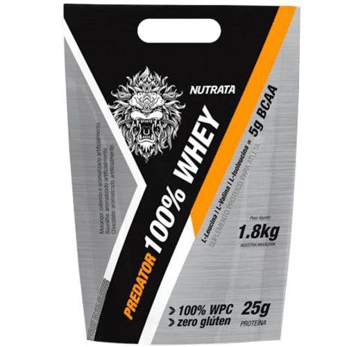 Predator 100% Whey 1,8 kg - Nutrata  - Personall Suplementos