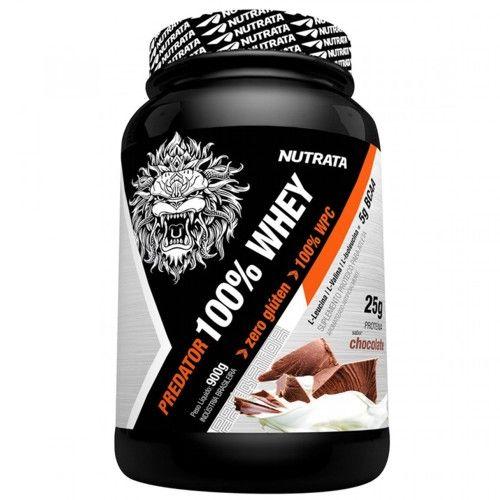 Predator 100% Whey 900g - Nutrata  - Personall Suplementos