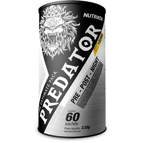 Predator Ultimate Pack 60 saches - Nutrata  - Personall Suplementos