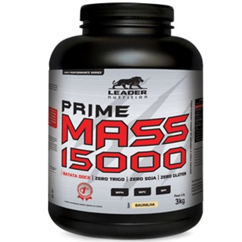 Prime Mass 3kg - Leader Nutrition  - Personall Suplementos