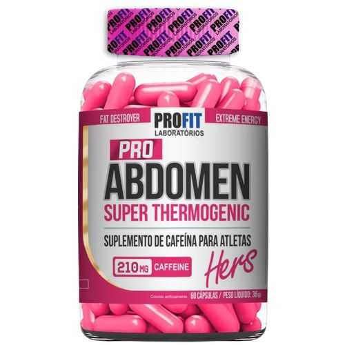 Pro Abdomen Hers 60caps - Profit  - Personall Suplementos