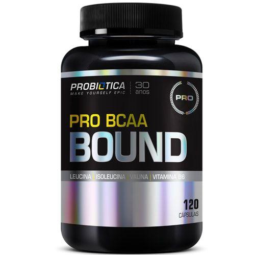 Pro BCAA Bound 120caps - Probiotica  - Personall Suplementos