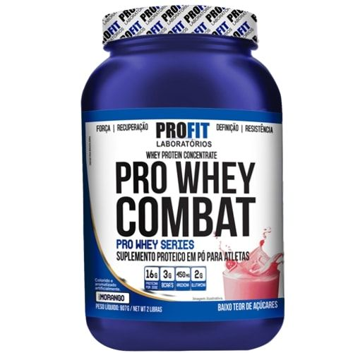 Pro Whey Combat 907g - Profit  - Personall Suplementos