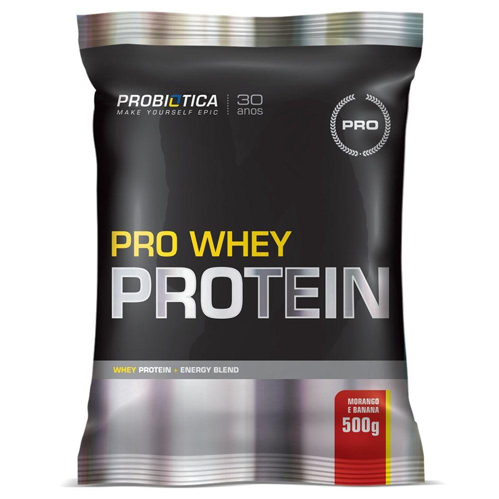 Pro Whey Protein 500g - Probiótica  - Personall Suplementos