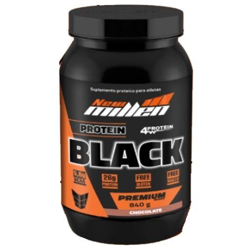 Protein Black 840g - New Millen  - Personall Suplementos