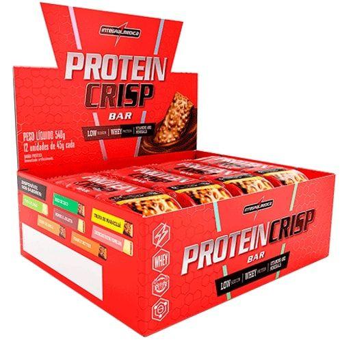 Protein Crisp  Bar 12und - Integralmedica  - Personall Suplementos