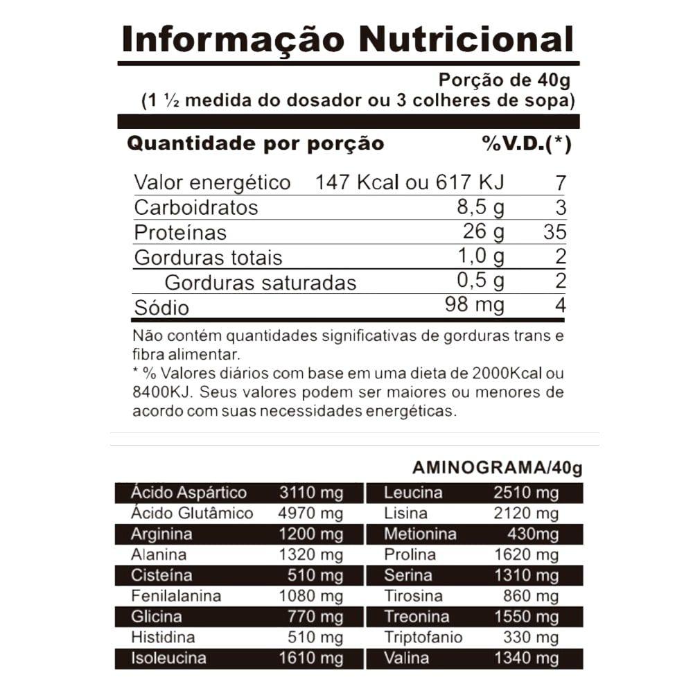 Protein Fusion 1,8kg - Espartanos  - Personall Suplementos