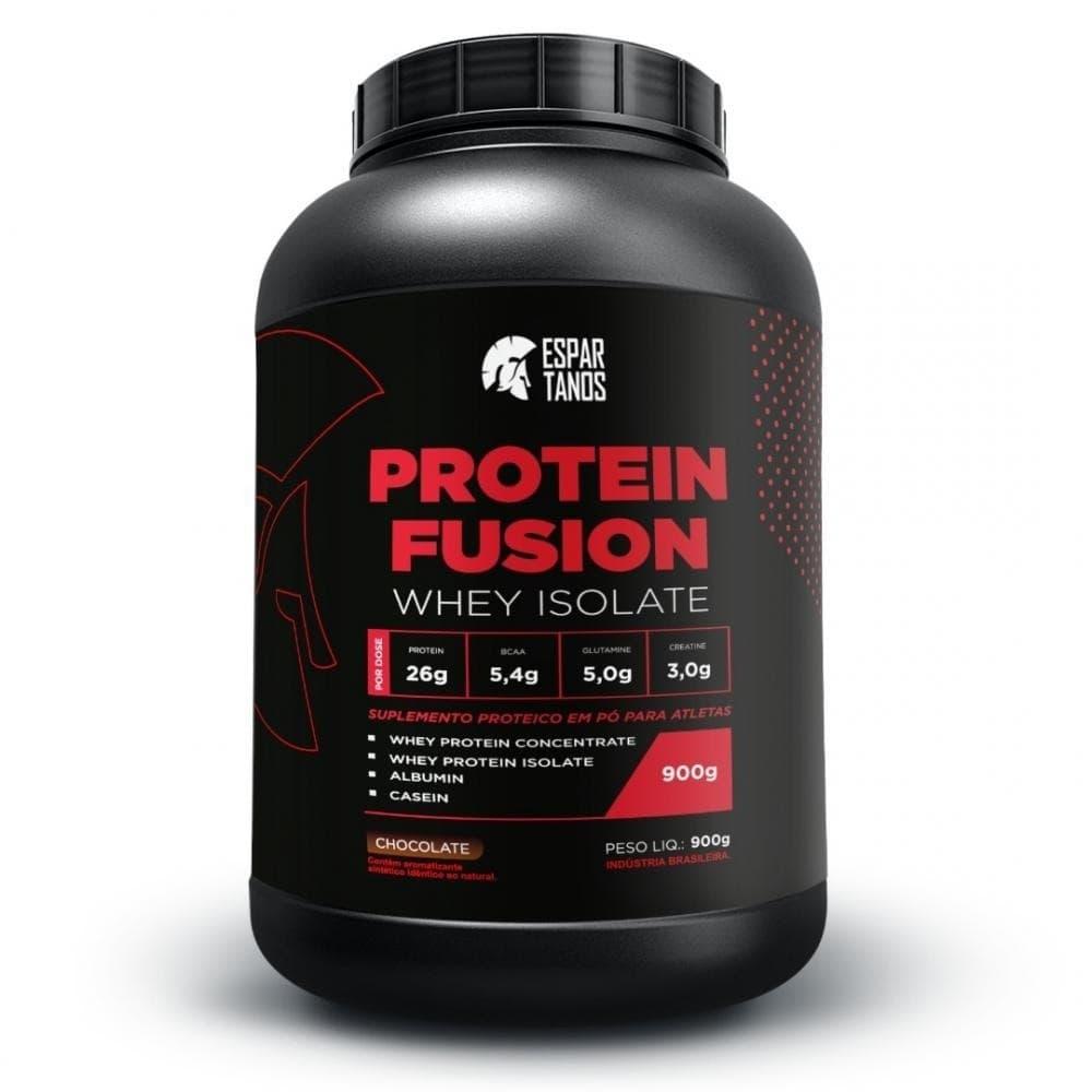 Protein Fusion 900g - Espartanos  - Personall Suplementos