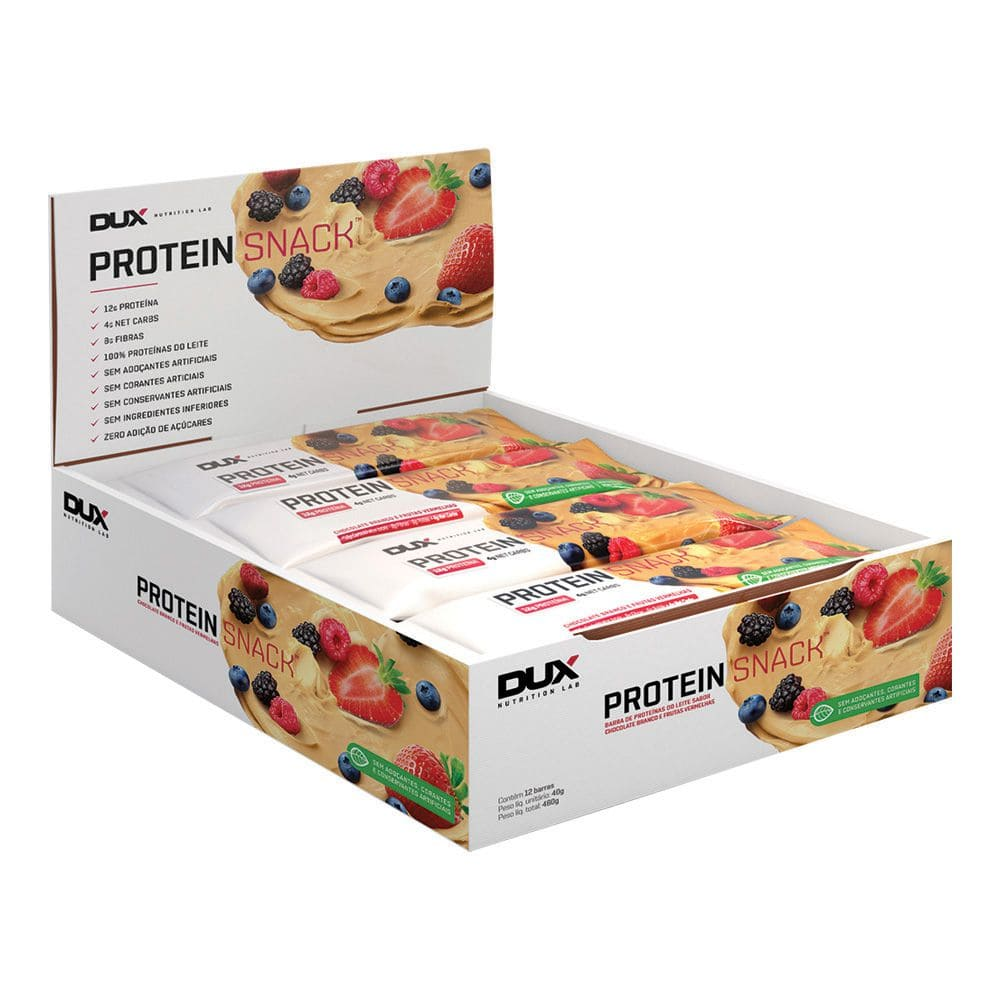 Proteinsnack  12 unidades - Dux Nutrition