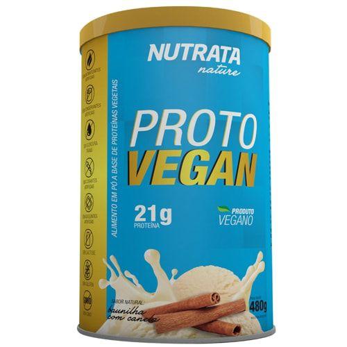 Proto Vegan 480g - Nutrata