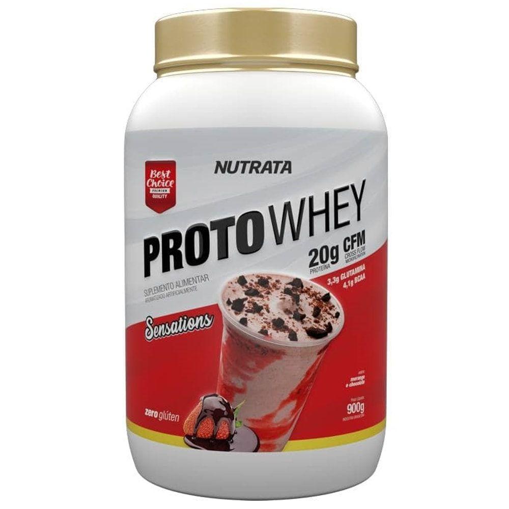 Proto Whey 900 gramas - Nutrata  - Personall Suplementos