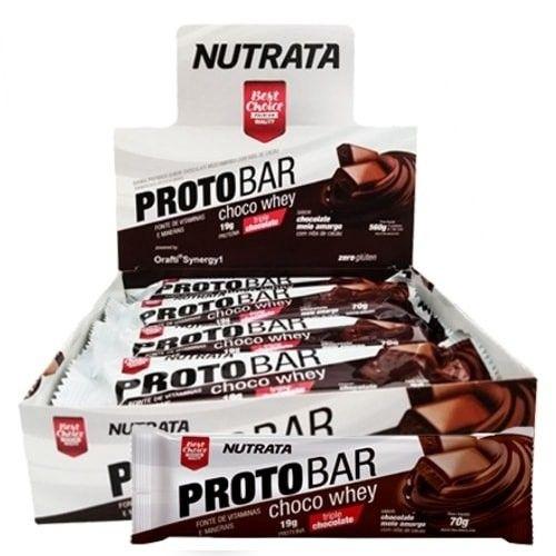 Protobar 8uni - Nutrata  - Personall Suplementos