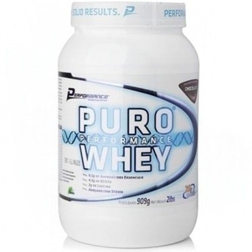 Puro Performance Whey 900g - Performance Nutrition  - Personall Suplementos