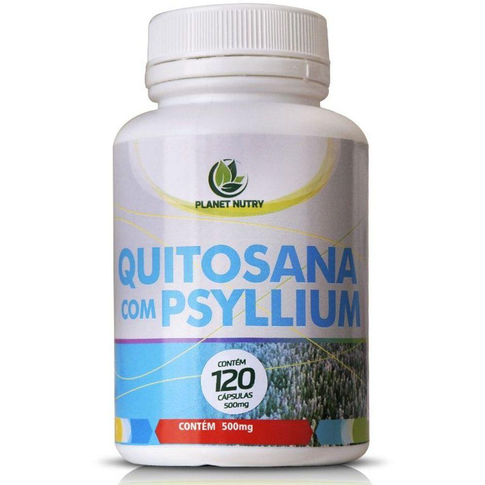 Quitosana Com Psyllium 60 cápsulas - Planet Nutry
