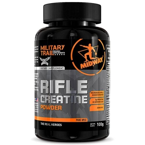Rifle Creatine 100g - Military Trail  - Personall Suplementos